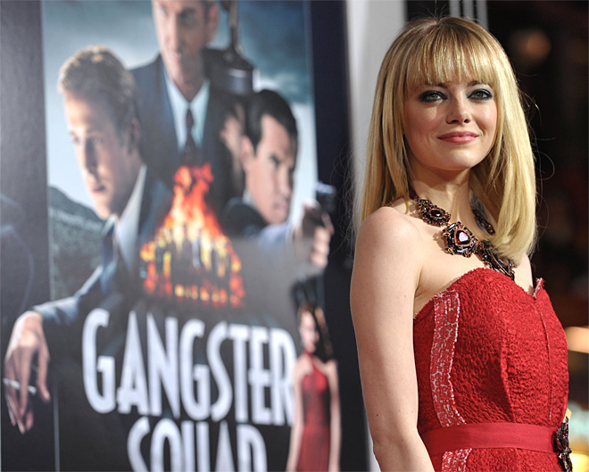 Premiere of Gangster Squad Red Carpet