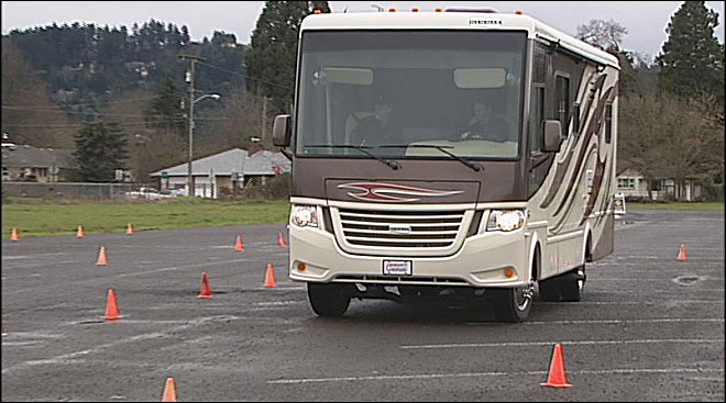 Want to learn how to drive an RV?