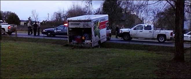 Two in U-Haul truck arrested after police chase