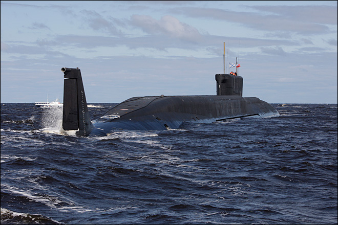 New Russian nuclear submarine enters service