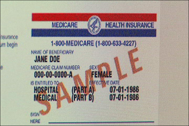 A simple solution for stopping Medicare card theft