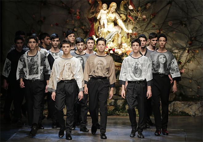 Italy Fashion Dolce & Gabbana