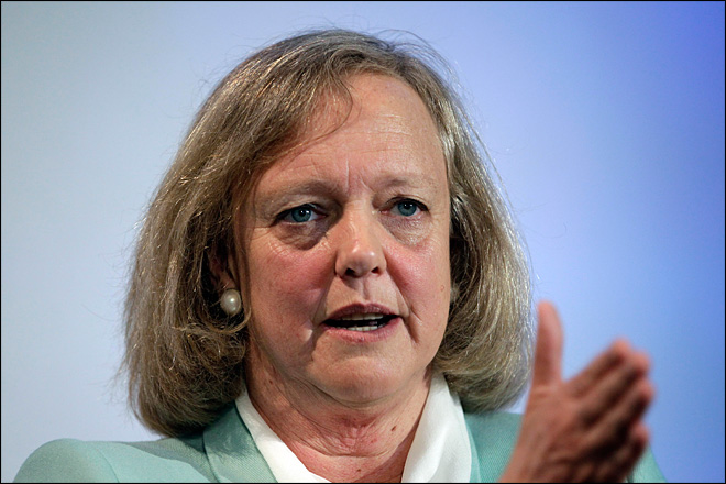 Meg Whitman's payday for first year at HP: $15 million