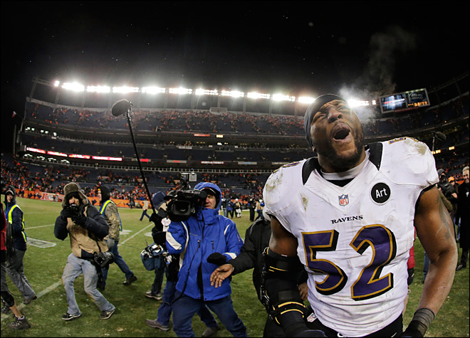 Ravens' Lewis dominating as retirement looms