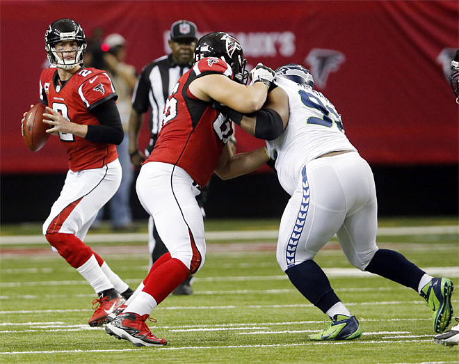 CORRECTION Seahawks Falcons Football