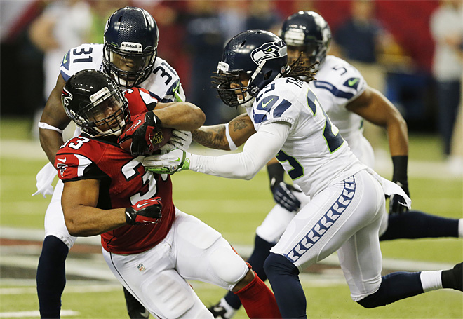 Seahawks Falcons Football