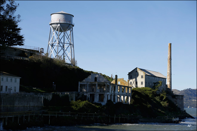 Park Service restores Alcatraz Indian graffiti