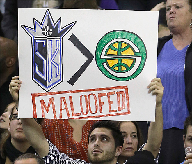 Report: NBA officials briefed on potential sale of Kings to Seattle