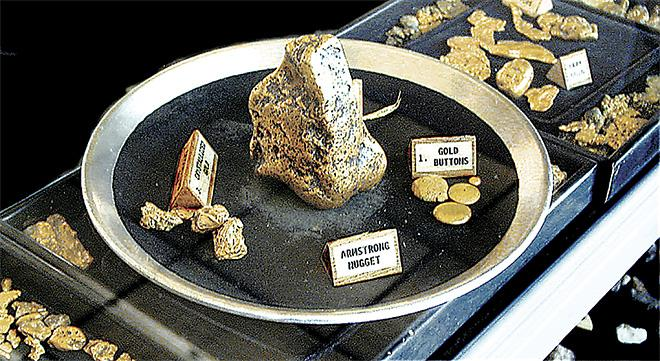Armstrong Gold Nugget