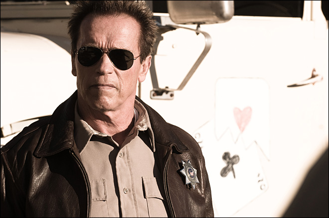 Review: Arnold's back in 'The Last Stand'
