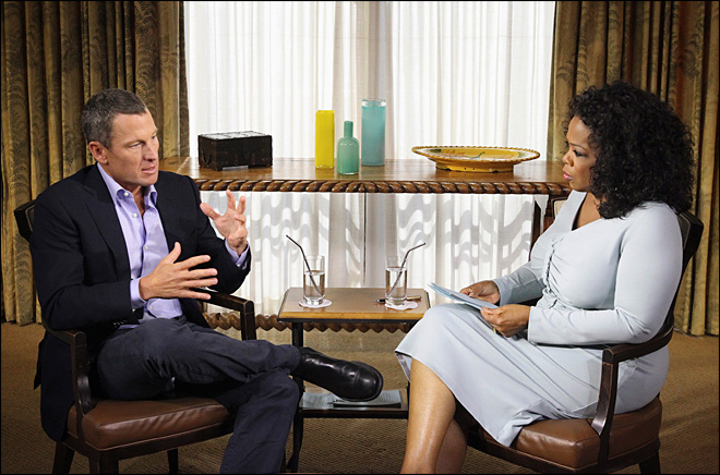 Winfrey says Armstrong interview 'intense'
