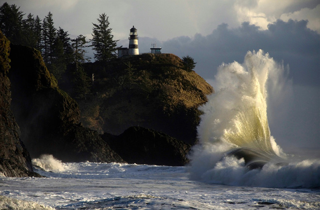 Destructive Waves at Cape Disappointment