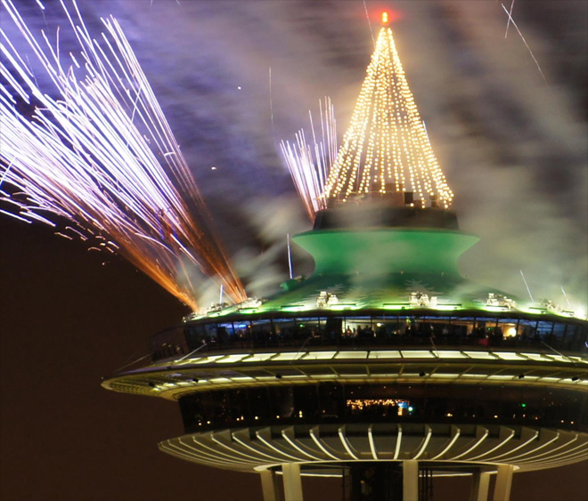 Space Needle Rings In 2013