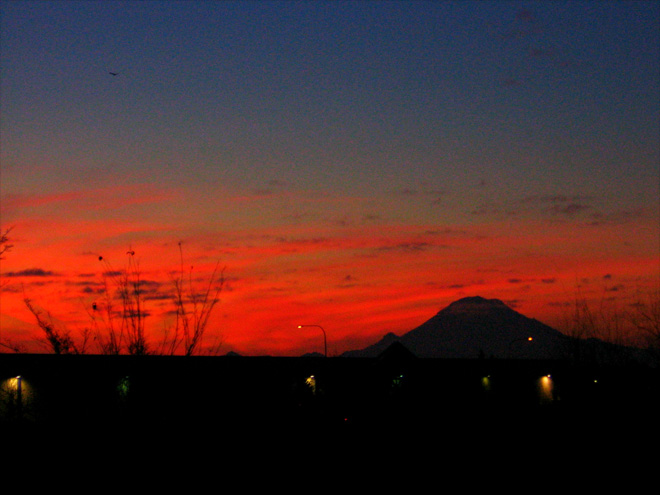 Mt. Rainier Sunrise from Auburn