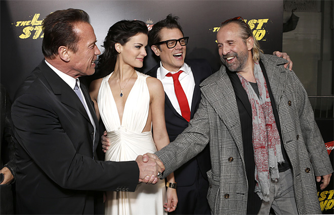 LA Premiere of &quot;The Last Stand&quot;