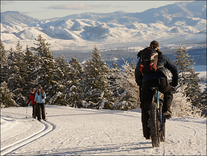 'It's just a mecca here right now for fat bike riding'