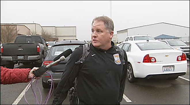 Chip Kelly at airport