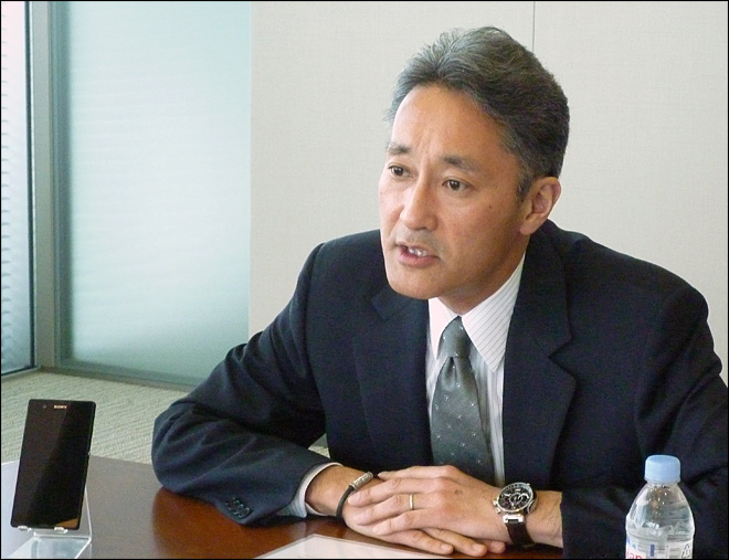 CEO says Sony is on track for comeback