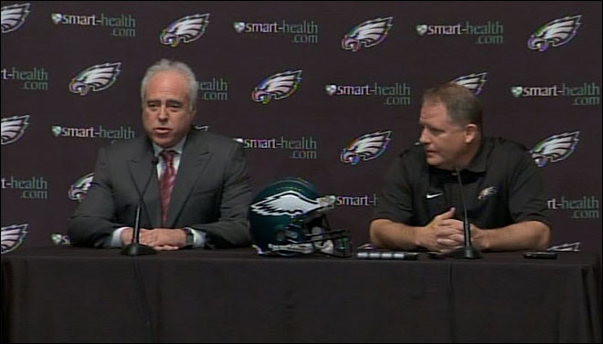Eagles owner mispronounces 'Oregon'
