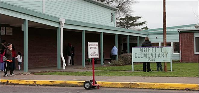 District offers a piece of closed Elementary School's past
