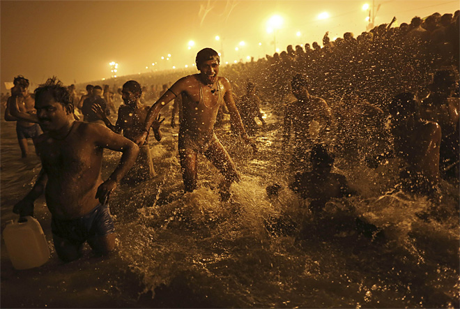 APTOPIX India Maha Kumbh Mela