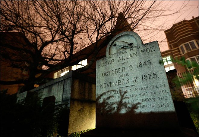 Poe visitor comes nevermore, yet mystery lingers