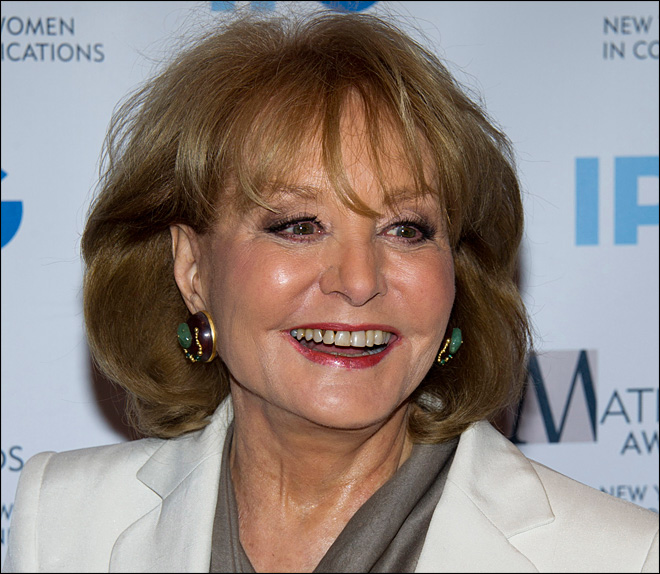 Barbara Walters hospitalized with chickenpox