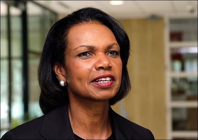 Former Secretary of State Rice joins CBS News