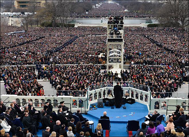 President Barack Obama's inaugural address
