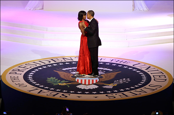 Michelle Obama wears Jason Wu to inauguration balls again