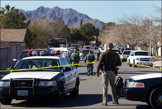 Vegas officer, wife and son dead in murder-suicide