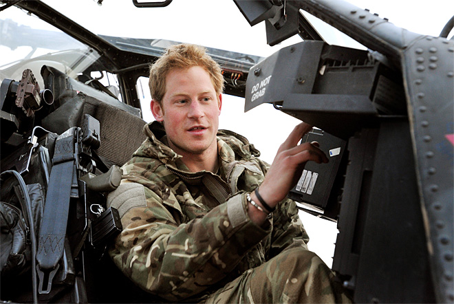 Afghanistan  Britain Prince Harry