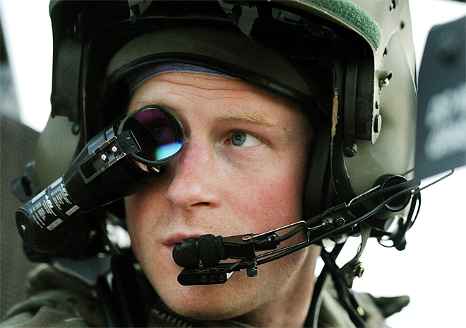 APTOPIX Afghanistan  Britain Prince Harry