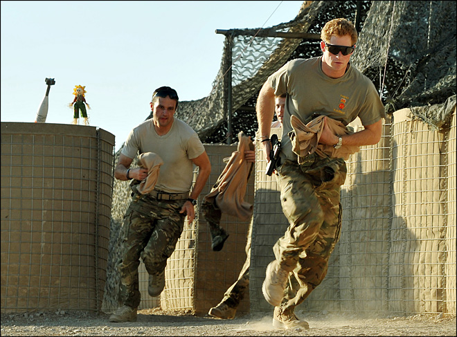 Prince Harry's wartime role draws reprisal fears
