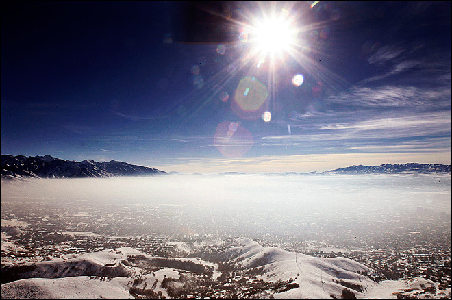 Sickening, lung-busting fog settles over Salt Lake City