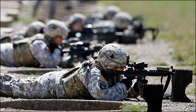 Will military's elite commando jobs go to women? Brass to decide
