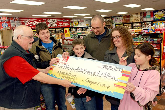 CORRECTION Laid Off Lottery Winner