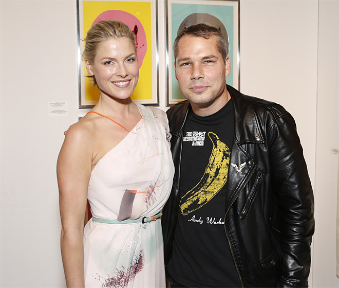 LA Art Show hosted by Ali Larter and Hayes MAcArthur Benefiting