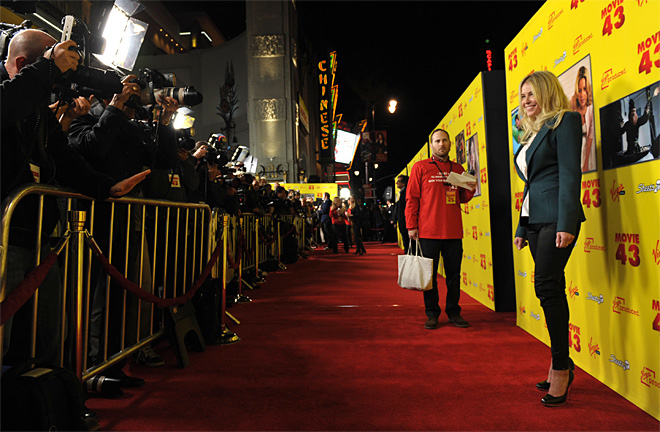 LA Premiere of Movie 43 - Red Carpet