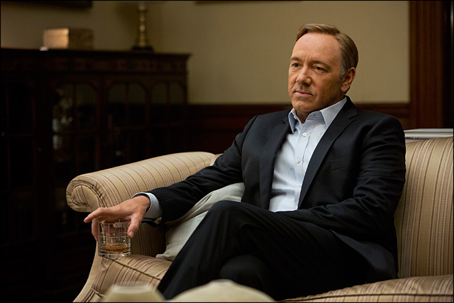 Netflix shuffles the TV deck with 'House of Cards'