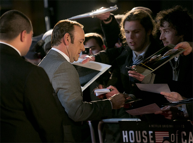 House of Cards Premiere London