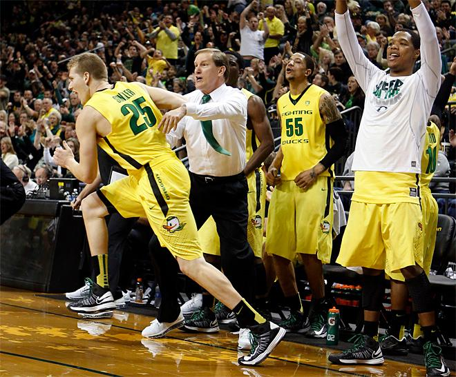 AP Top 25: Ducks rise to No. 10 after sweep of Washington schools
