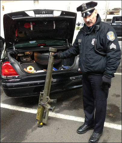 Army, police to trace status of missile launcher at Seattle gun buyback