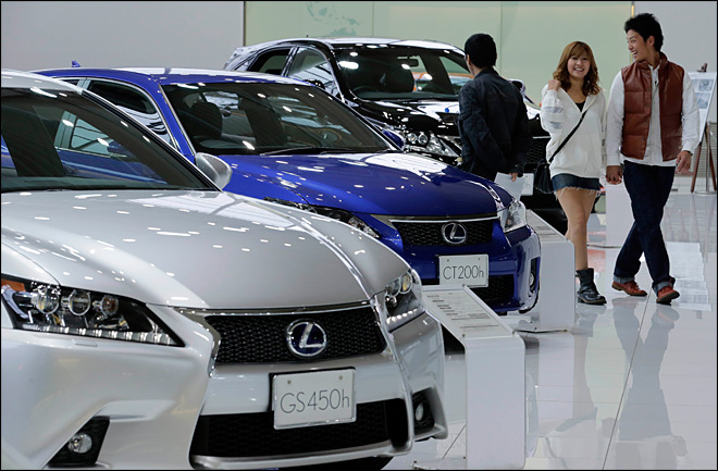 Toyota to build Lexus in Kentucky, add 750 jobs