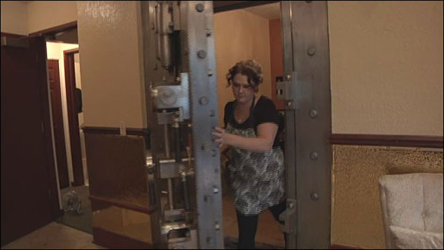 Did you know you can wash your hair in a bank vault?