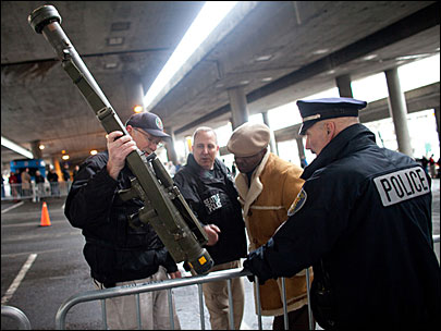 Missile launcher, 700 guns collected at Seattle buyback