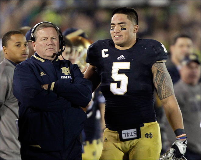 ND coach doesn't know if hoax affected Teo's play
