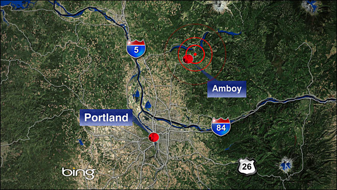 Small earthquake shakes SW Washington