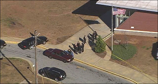 Authorities: Teen shot in head at Atlanta middle school