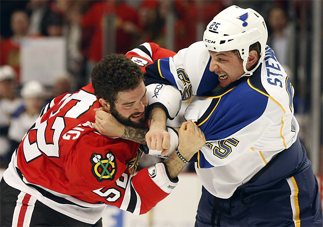 Blues Blackhawks Hockey